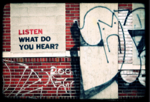 Graffiti: listen