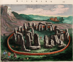 """Seventeenth century depiction of Stonehenge"", at http://en.wikipedia.org/wiki/Stonehenge"