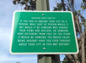 Palo Alto road sign