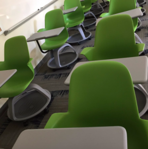 rolling classroom chairs